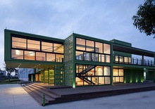 Welded strong container house