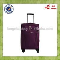 2015 New Models Four Wheels Accept OEM Royal Luggage Trolley Case