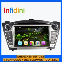 """7"""" touch screen 2 din pure android 4.2 hyundai tucson special car dvd player for hyundai I35 IX35 with wifi 3g gps navigation"""