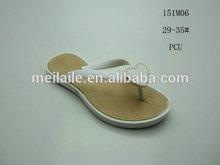 kids flipflops ,PCU Plastic Sandel,with decoration fashion shoes