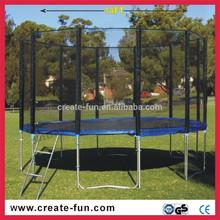14ft big bungee trampolines with basketball hoop
