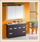 Cheap and nice wood bathroom furniture set 2015102