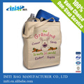 2014 venda quente eco amigável sacola de algodão orgânico/bolsa grande