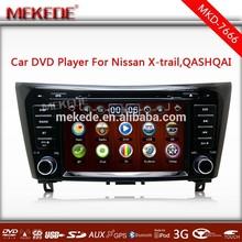 WiFi 3G Car DVD GPS Stereo For Qashqai X-Trail 2014 car radio with Radio BT IPOD TV