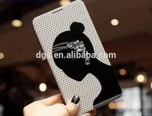 Korea style black girl cellphone case for iphone,for samsung