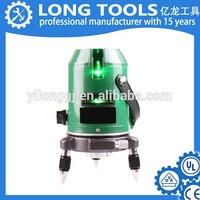 Cheap self leveling automatic rotation green beam laser level machine