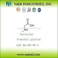 N-methyl glycine / sarcosine powder 107-97-1