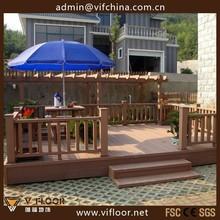 Outdoor Garden Wood Plastic Composite Fence