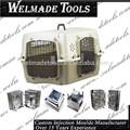 plástico cão engradado de injeção ferramentaria molde fabricante
