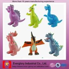 Plastic figurine set plastic dinosaur toys set home decoration items