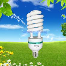 Hot sale CFL light half spiral save energy lamp 55w 100% tri-phosphor bulb