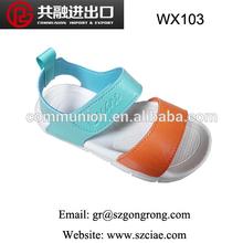 fashion latest design cheap soft cute comfortable colorful casual beach sandal china wholesale children shoes