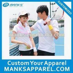 men's polo sport shirt for badminton
