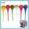 Nuevo!! Color mezclado de la mano de vidrio soplado flor globo bulbo de riego aqua globos terráqueos