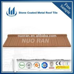 NUORAN Sand Coated Metal Roofing Tiles / Roof Tiles / metal roof sheet