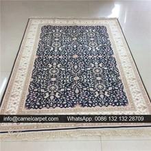 Isfahan seide persischen großhandel 122x183cm teppich lager