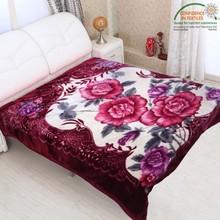 100% polyester acrylic mink blanket