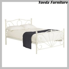 Vitoria Styling Ivory Double Size Metal Bed Frame