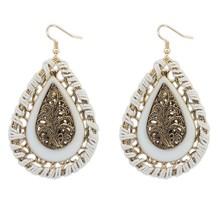 new design water drop dangle earring accessories jewelry wholesale