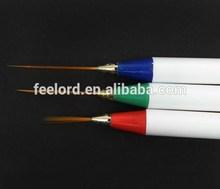 professional 3Pcs Nail Pull Pen For Nail Art/Nail Painting Brush