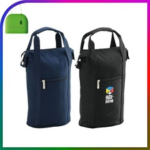 Foldable Insulated Bottle Tote Carrier PackIt Freezable Wine Cooler Bag With Zip Closure