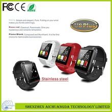 2014 new smart watch phone sport design U8 plus newest bluetooth smart watch andriod ios smart watch