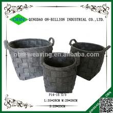 Cheap fabric felt storage basket