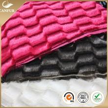 100% polyester pv plush fabric