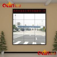 55 inch floor stand ultra narrow bezel lcd TV wall display indoor HD