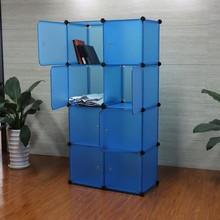 8 cubes kitchen cabinet storage ideas in blue color(FH-AL0030-8)