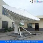 7.3m ring focus telecommunication vsat equipment