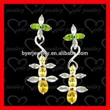 Hot Sale 925 sterling silver earring with zircon
