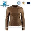 2014 nuevo estilo más el tamaño de mujer cuero chaquetas y blazers
