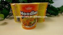 Low-calorie wholesale quick cooking cup instant noodle 65g