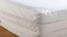 """Zippered Protective Mattress Cover Size Queen 60""""x80"""""""