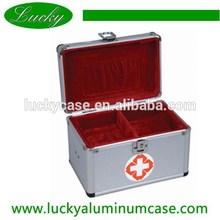 Durable lightweight aluminum Emergency medicine cases