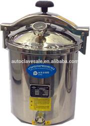 Portable Steam Sterilizer With Hand Wheel Door