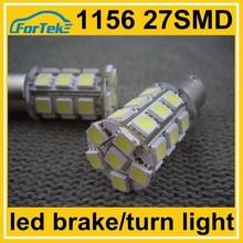12v car lights led brake turn tail lamp 1156 27SMD 5050 strobe light