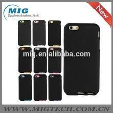 Fashion PC matte hard case+SILICONE STYLE for iphone 6 case, cell phone case for iphone 6 accessory 10 colors