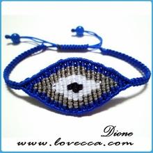Turkish charm evil eye beads bracelet for children evil eye charms bracelet