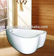 China White Hot Heart Shape Bathtubs On Sale