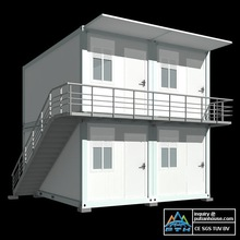 20feet container house stacked muiti-storey hotel Dominican Republic DO