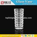 boylu vazo kare boyunda cam kare vazo Bormioli rocco duemila vazo