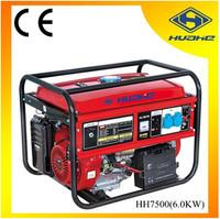 6kw 4 stroke petrol generator electric start,small portable petrol generator