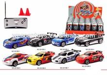 promotional gift radio control car toy coke can mini rc car