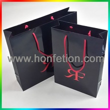 Custom Paper Gift Bag With Cotton Ropes handles