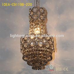 traditional led chandeliers home lighting cristal ball pendant light