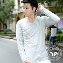220 grams new design moisture wicking long sleeve tshirt
