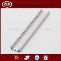 Extruded aluminium u shape profile for led strip light