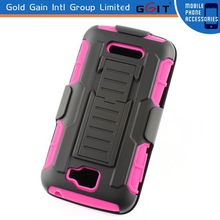 For Alcatel OT7040T Cover Holster Kickstand Combo Case
